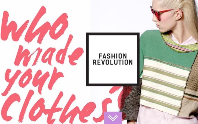 """Fashion Revolution: """"Kıyafetlerimi Kim Yaptı?"""" Sorusuyla Yola Çıkan Hareket, Şimdi Türkiye'de!"""