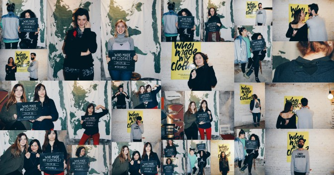 Fashion Revolution Haftası 18-24 Nisan // Fashion Revolution Week April 18-24