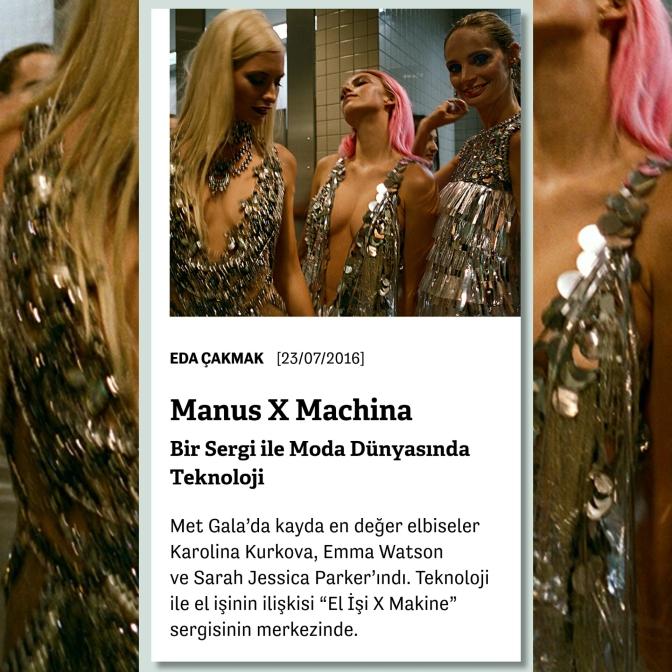 Manifold: MET'in Manus X Machina Sergisi Üzerine
