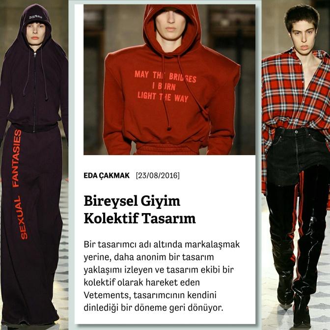 Manifold: Vetements ve modada kolektif tasarım üzerine
