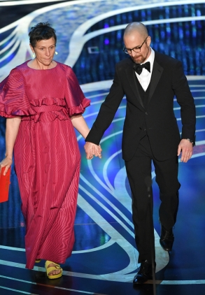 Mandatory Credit: Photo by Rob Latour/REX/Shutterstock (10112915ii) Frances McDormand and Sam Rockwell 91st Annual Academy Awards, Show, Los Angeles, USA - 24 Feb 2019